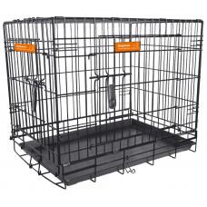 Hundbur i stål